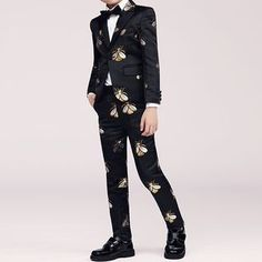 b8f27326a8a5 Snow Castle Kids Blazer / Shirt / Vest / Dress Pants / Bow Tie / Brooch