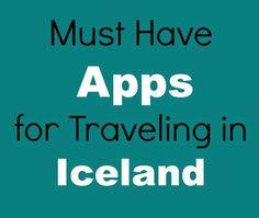 Best Apps for Traveling in Iceland | Unlocking Kiki