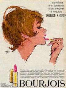 Bourjois Lipstick Ad