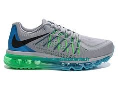 low cost fc939 0797f Nike Air Max 2015 Chaussures Nike Sportswear Pas Cher Pour Homme Bleu/Gris  698902-