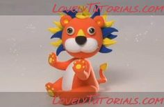 lion step by step Lion Cakes, Cake Decorating Tutorials, Princess Peach, Decoration, Toys, Step By Step, Decor, Activity Toys, Clearance Toys