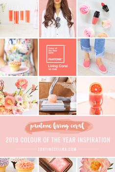 Pantone Colour of the Year 2019 Living Coral Inspiration | How to Incorporate Pantone's Color of the Year 2019 Living Coral in Your Home, Beauty Routine, Personal Style, Wardrobe, Flowers, Decor, Food, Drink and Entertaining this year | Living Coral Interior Design Trends | Pantone Living Coral Inspiration | How to Use Pantone Color of the Year 2019 Living Coral // JustineCelina.com Color Trends, Design Trends, Green Eyes Pop, Bite Beauty Amuse Bouche, Color Inspiration, Wedding Inspiration, Soft Corals, Live Coral, Color Of The Year