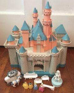 Disney Sleeping Beauty Castle Playset W/ Sounds & Princess Figures Cinderella  | eBay