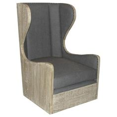 Constructed from reclaimed douglas fir wood Custom Furniture, Bedroom Furniture, Home Furniture, Furniture Ideas, Douglas Fir Wood, Wayfair Living Room Chairs, Reclaimed Lumber, Primitive Furniture, Wing Chair