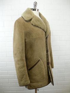 Sheepskin coat. About coats there is one that screams out