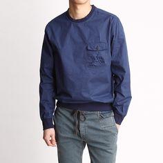 존클락 남자우븐포켓 맨투맨티(MTM)-rt552 | 35000원  남자티셔츠,남성맨투맨티