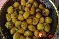 Najchutnejšie zemiaky s cesnakom: Vďaka tajnej prísade sú úžasne chrumkavé na povrchu a mäkučké vo vnútri!