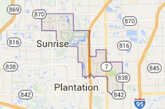 31 Best Broward County City Maps images | Broward county florida ...