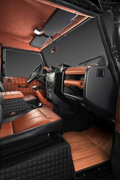 Vilner Defender 110 interior
