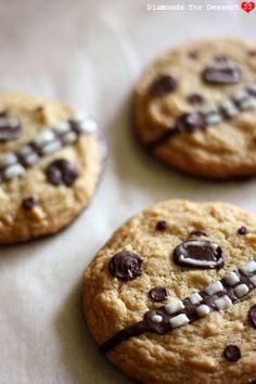 Diamonds for Dessert: Chewie Wookiee Cookies