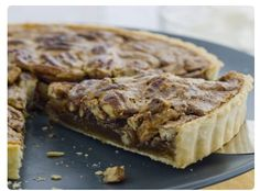 Curtis Stone's Pecan Tart  Recipe found here:  http://www.curtisstone.com/Recipes/Desserts/Pecan-Tart.aspx