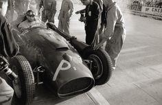 Juan Manuel Fangio - Ferrari DS50 - 1956 - Grand Prix de Monaco