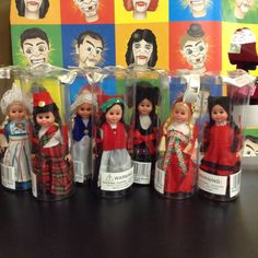 Nationality Dolls! Guess which one is from Norway! Do it now!