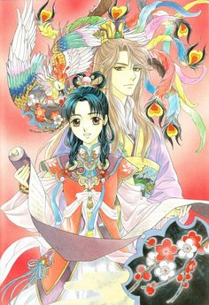 Saiunkoku Monogatari... just finish watching this and this was really entertaining I just love Ryuki and Ensei and Shuuei and Ryuren that's a lot but oh well :))