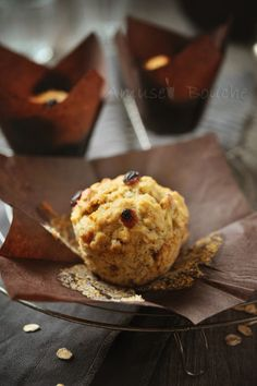 muffin banane flocon d'avoine