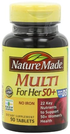 Nature Made Multi for Her 50 Plus Multiple Vitamin and Mineral, 90 Count *** You can get additional details at the image link.