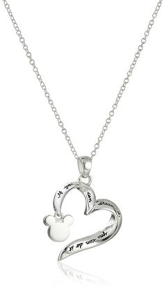 Disney Sterling Silver If You Can Dream It You Can Do It Pendant Necklace 18 ** Details can be found by clicking on the image. Colar Disney, Cute Jewelry, Women Jewelry, Jewlery, Jewelry Shop, Jewelry Necklaces, Baby Jewelry, Collection Disney, Skull Fashion