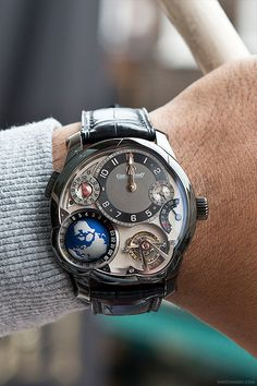 650,000 pound Greubel Forsey Tourbillon GMT Watch - Men's timepieces