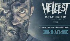 Le festival Hellfest vient de dévoiler sa programmation et il y a du lourd! 3 jours et de nombreux invités, 128 noms à l'affiche pour ce festival de metal avec cette anneé Alice Cooper, ZZ Top, Slash, Scorpions, Limp Bizkit, les Wampas, Korn, Airbourne,...