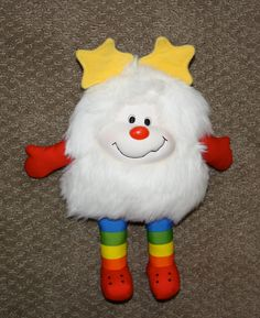 Vintage 1983 Mattel Rainbow Brite White Sprite Twink Doll - Oh, My! Back to the past
