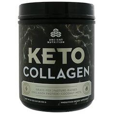 Ancient Nutrition Keto Collagen Collagen Protein + Coconut MCTs