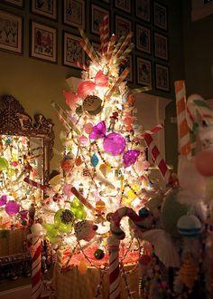 Candyland Christmas Tree   #christmas #xmas #holiday #decorating #decor