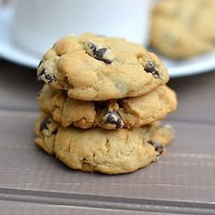 To try: Vegan Chocolate Chip Cookies