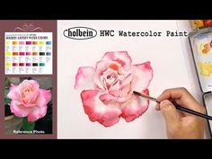How to Paint Wet-on-Wet | Painting Tutorial with Holbein Watercolor Set - YouTube