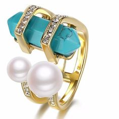 Venus Glam Blue Ring
