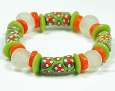Our jewellery features ethically sourced materials including beads from many countries in Africa. Living Without You, Recycled Glass, Green And Orange, Fair Trade, Favorite Color, Lime, Beaded Bracelets, Beads, Grey