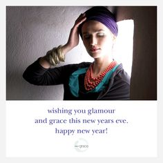 #Weargrace wishes you all a fun and joyful #Happy New Year's Eve!