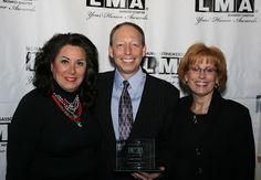 Ross inducted into the LMA/Midwest Hall of Fame with Sydney Iglitzen and Joy Long