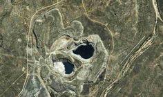 Australie ancienne mine d'or  pôle énergies renouvelables
