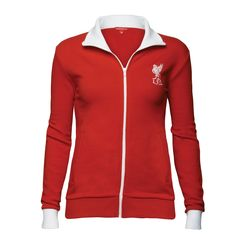Ladies Retro 70s Jacket, £40  Order here: http://store.liverpoolfc.tv/Ladies-Retro-70s-Jacket/pid-34163