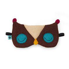Felt Owl Sleeping Ma