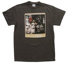 Star Wars Wookie Photo Bomb Mens Charcoal Heathered Tee - Listing price: $49.99 Now: $13.99 + Free Shipping