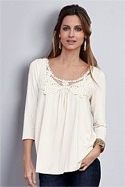 Together Woman Lace Yoke Top. Get unbeatable discounts up to 60% at Ezibuy with Coupon and Promo Codes.