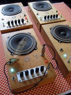 Derek Holzer (1972) is an American instrument builder and sound artist based in…