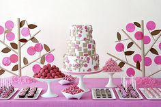 www.ashleys-sweet-sensations.com Dessert tables are a great idea for any event as are lolly buffets