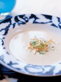 【ELLE a table】ごぼうの大麦のクリームスープ