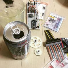 酒の肴 #arduino #iot #男梅サワー #酒 by ko_come