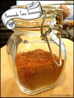 ... Homemade Mixes on Pinterest | Homemade taco seasoning, Taco seasoning