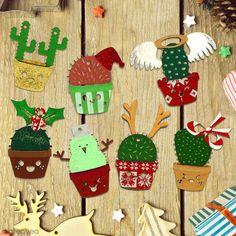 Déco Cactus de Noël Deco Cactus, Decoration Cactus, Diy, Advent Calendar, Creations, Christmas Ornaments, Holiday Decor, Ideas, Design