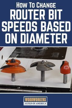 George Vondriska demonstrates why you need to change the speed of your router based on the diameter of the router bit you are using for your woodworking projects. A WoodWorkers Guild of America (WWGOA) original video.