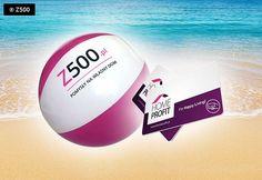 WAKACYJNA PROMOCJA Z500!   Piłka plażowa i karta Home Profit o wartości 219 zł GRATIS!  Do każdego zamówienia na dowolny projekt domu złożonego bezpośrednio na www.z500.pl!