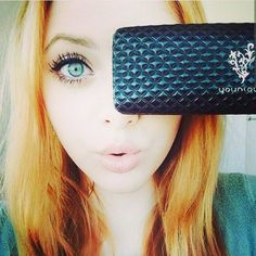 Love your lashes!!!   Younique 3d fiber lashes!!!