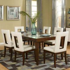 Najarian Furniture Enzo 7 Piece Dining Set