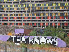 Park Hill Flats, Sheffield - Kid Acne  - Tha knows