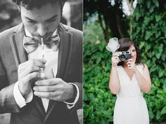 Since they are both Wedding Photographers, some vintage cameras