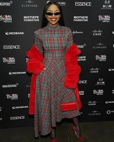 SR Star girl Bonang Matheba serving several levels of fabulosity at the recent Global Citizen event in Joburg South Africa.  #StyleRave.  Be sure to follow @StyleRave_  and turn on your Notification .  Visit StyleRave.com  for the latest in fashion beauty lifestyle and culture.  Follow @stylerave_  Follow @stylerave_ .  Disclaimer: Photo(s) remains intellectual property of the tagged/original owners. Style Rave stamp is a nod that the looks are SR curated & certified   Featuring @bonang_m…